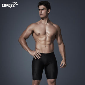 Men's Professional Swimwear Trunks Swim Briefs Quick Dry Breathable