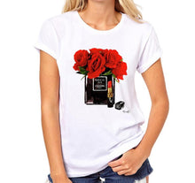 Load image into Gallery viewer, Women's Paris Perfume Bottle Casual Hipster T-Shirt