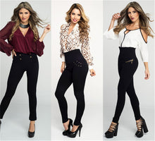Load image into Gallery viewer, Women's Fashion Leggings Slim Embellished Leggings
