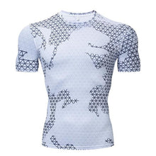 Load image into Gallery viewer, Men's Camouflage Compression Sport T-Shirt Gym Fitness Sportswear