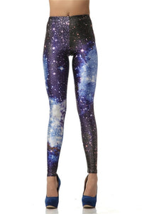 Galaxy Printed 3D Digital Women's Leggings