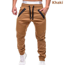 Load image into Gallery viewer, Men's Casual Drawstring Joggers Full Length Mid Waist Streetwear