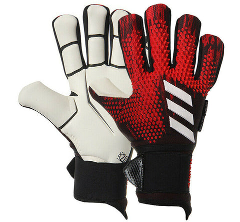 Adidas Predator PRO Ultimate Goalkeeper Gloves GK Soccer Football Red FH7290