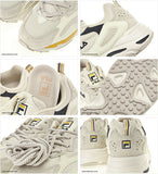 FILA Ray Tracer Unisex Running Shoes Sports Athletic Sneakers Beige FS1SIB1461X