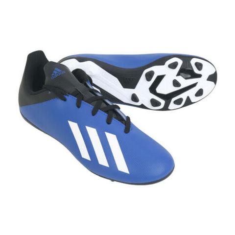 Adidas Jr. X 19.4 FXG Football Shoes Soccer Cleats Blue EF1615