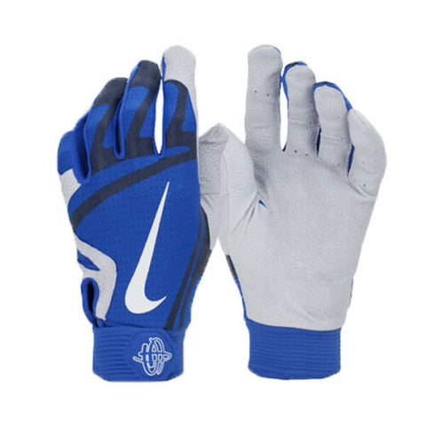 Nike Huarache PRO Baseball Batting Glove Blue/White GB0466-446