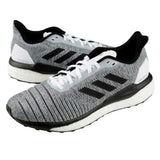 Adidas Men's Solar Drive Running Shoes Athletic Training Black/Gray/White D97441