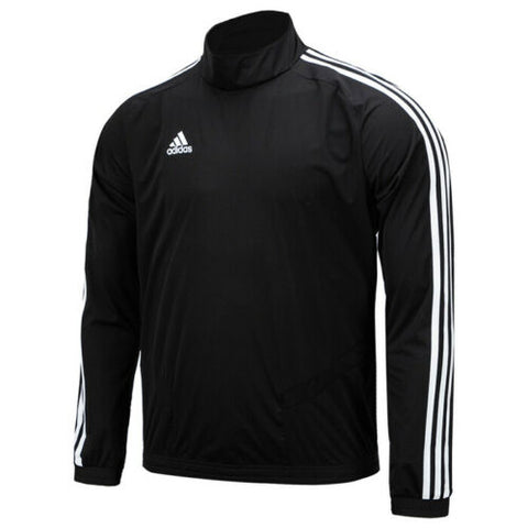 Adidas Tiro 19 Running Top Men's Training Shirts Football Jersey Black DT5283