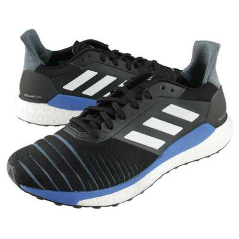 Adidas Solar Glide Men's Running Shoes Sports Athletic Black CQ3175