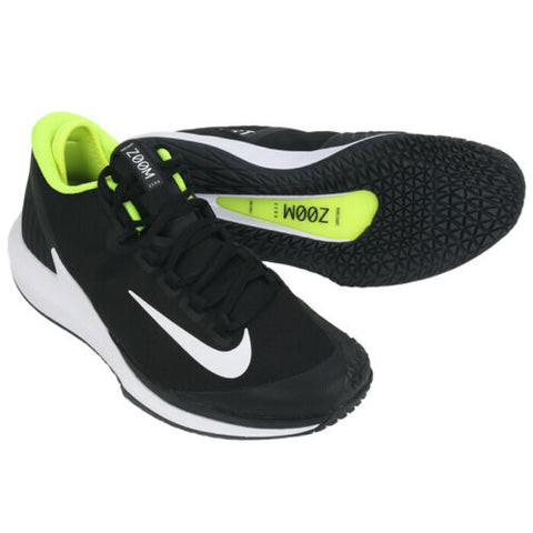 NikeCourt Air Zoom Zero Men's Running Shoes Sports Athletic Black AA8018-007