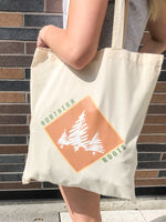 Peach Leafed Willow Tote Bag