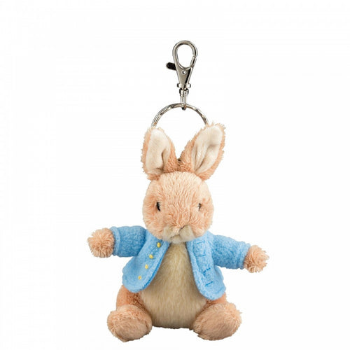 Peter Rabbit Plush Keyring - The Celebrity Gift Company