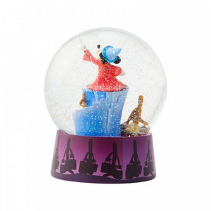 Disney Mickey Mouse Fantasia Waterball Snowglobe - The Celebrity Gift Company