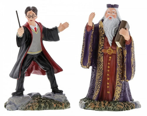 Harry Potter and The Headmaster Figurine - The Celebrity Gift Company