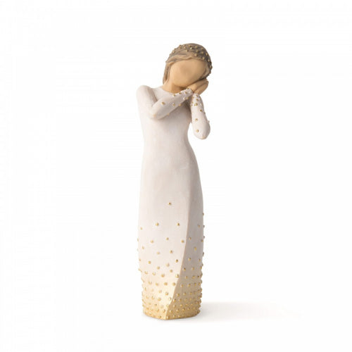 Willow Tree Figurine - Wishing - The Celebrity Gift Company