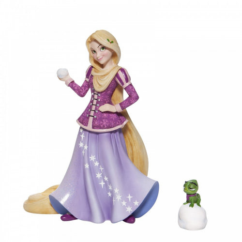 Disney Showcase Holiday Rapunzel Figurine - The Celebrity Gift Company