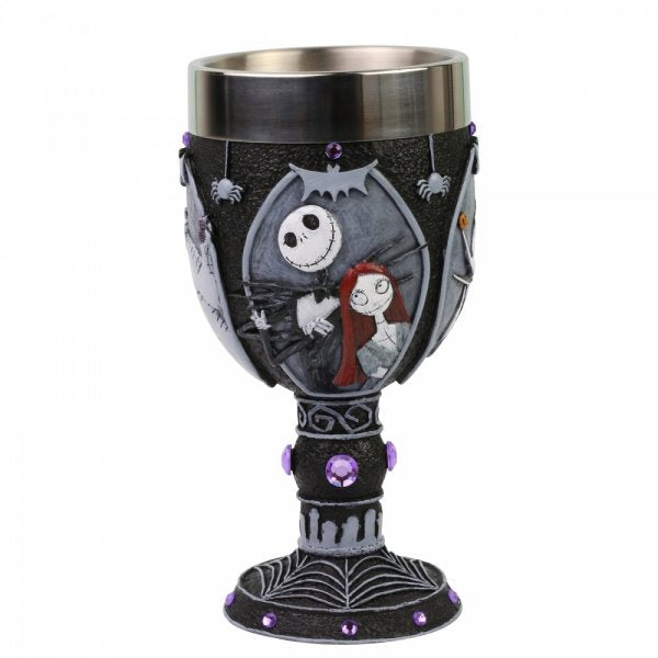 Nightmare Before Christmas Decorative Goblet - The Celebrity Gift Company