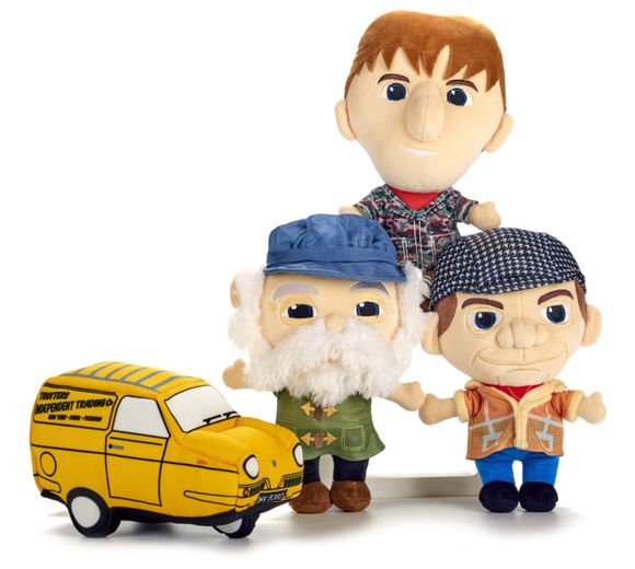 Only Fools & Horses Plush Toy Set 25cm - The Celebrity Gift Company