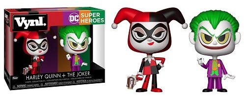 Funko 25528 Vinyl DC Harley and Joker Figure, Multicolor, 4-Inch - The Celebrity Gift Company