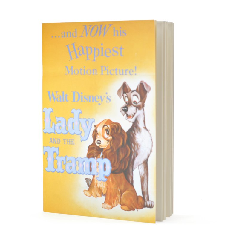 Disney Lady & The Tramp Notebook by  The Celebrity Gift Company