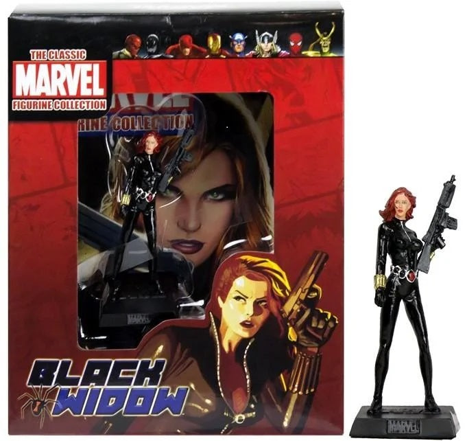Classic Marvel Collection: Black Widow Figure - The Celebrity Gift Company