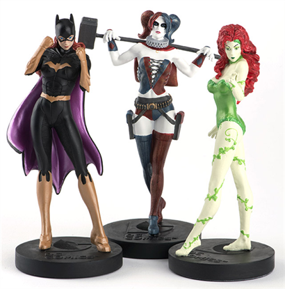 DC Comics Femmes Fatales Figurine Box Set - The Celebrity Gift Company