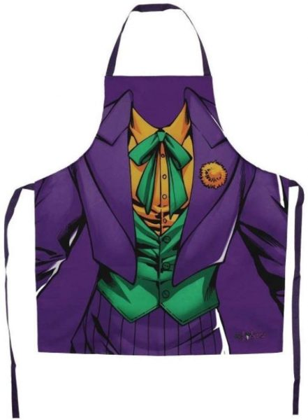 DC Comics Official Originals Joker Novelty Cooking Apron - The Celebrity Gift Company