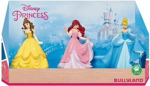 Bullyland 3 Piece Disney Princesses Figure Set - The Celebrity Gift Company