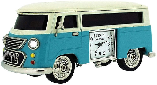 Camper Van Miniature Clock - The Celebrity Gift Company