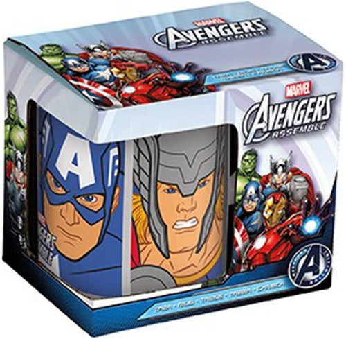 Marvel Avengers Assemble Boxed Mug - The Celebrity Gift Company