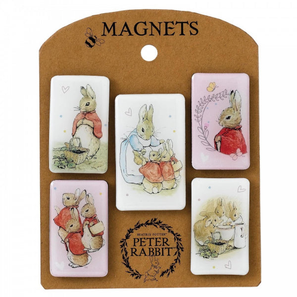 Peter Rabbit Flopsy Magnet Set - The Celebrity Gift Company