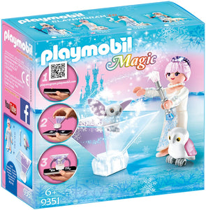 Playmobil 9351 Magic Playmogram 3D Ice Flower Princess - The Celebrity Gift Company