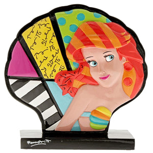 Disney Britto Ariel Shell Icon - The Celebrity Gift Company