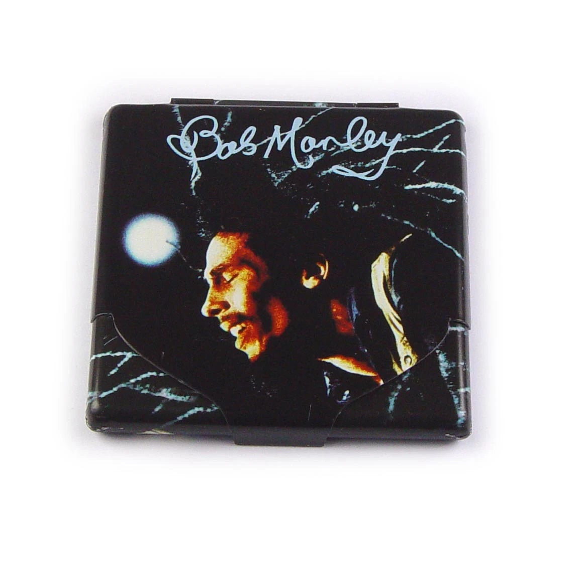 Bob Marley Colour Cigarette Case, Smoking Accessories by The Celebrity Gift Company