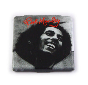 Bob Marley Black & White Cigarette Case - The Celebrity Gift Company