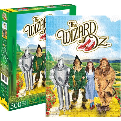 Wizard of Oz 500-Piece Jigsaw Puzzle - The Celebrity Gift Company