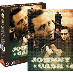 Johnny Cash 500-Piece Jigsaw Puzzle