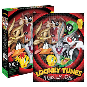 Looney Tunes Group 1,000-Piece Puzzle - The Celebrity Gift Company