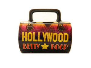 Betty Boop Glitter Purse Shaped Mug - The Celebrity Gift Company