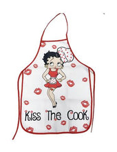 Load image into Gallery viewer, Betty Boop Apron Kiss The Cook - The Celebrity Gift Company