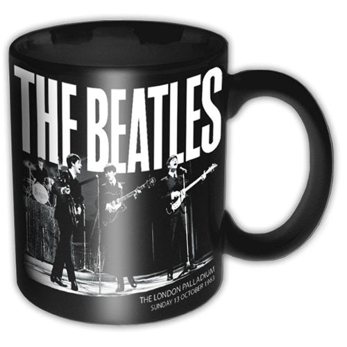 THE BEATLES BOXED STANDARD MUG: PALLADIAM 1963 - The Celebrity Gift Company