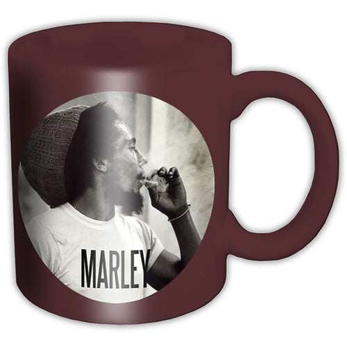 BOB MARLEY BOXED STANDARD MUG: CIRCLE - The Celebrity Gift Company