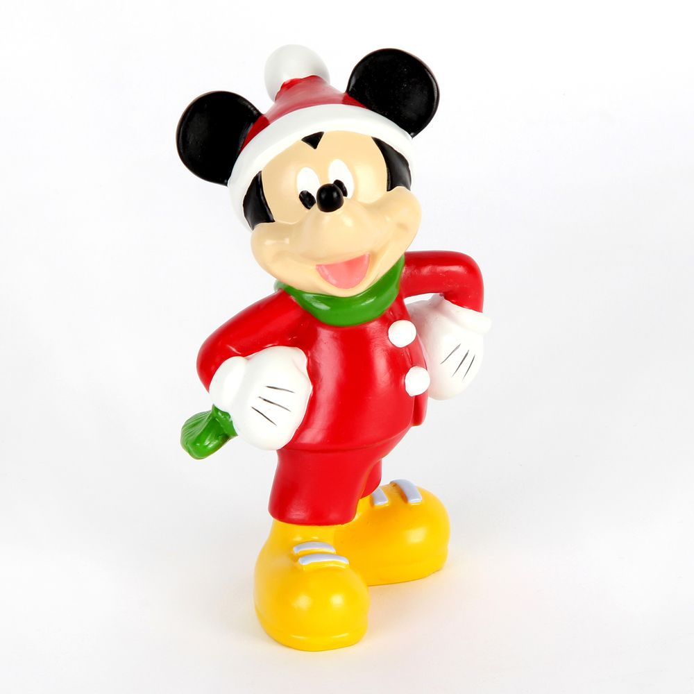 Disney Christmas Mickey Mouse 12cm Figurine - The Celebrity Gift Company