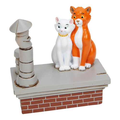 Disney Magical Moments Aristocats Figurine - How Romantic - The Celebrity Gift Company