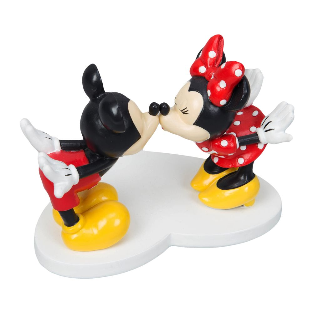 Disney Magical Moments - Mickey & Minnie Kissing Figurine - The Celebrity Gift Company