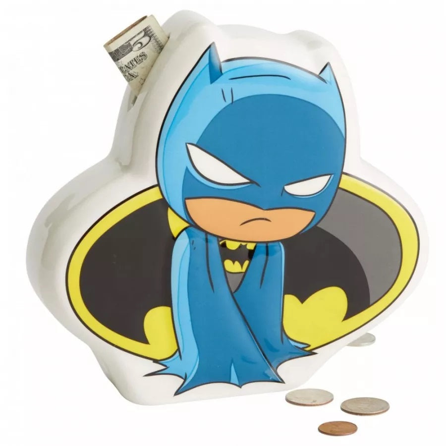 DC Super Friends Ceramic Moneybox - Batman - The Celebrity Gift Company
