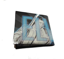 Load image into Gallery viewer, Elvis Presley Wallet - Black & Blue - The Celebrity Gift Company