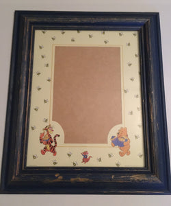 Vintage Style Winnie The Pooh Wooden Photo Frame - The Celebrity Gift Company