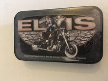 Load image into Gallery viewer, Elvis Presley Mints in Tin Motorcycle Wings - The Celebrity Gift Company