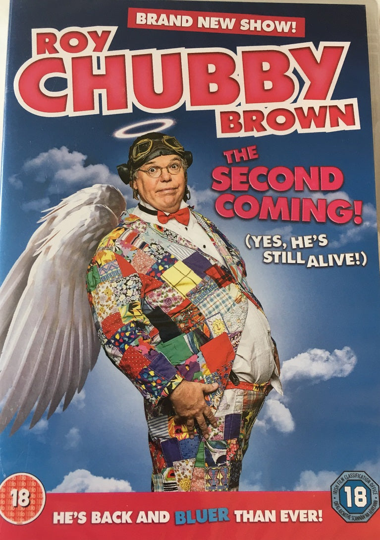 Roy Chubby Brown The Second Coming DVD (18) - The Celebrity Gift Company